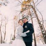 С-нежный день: свадьба в зимнем стиле