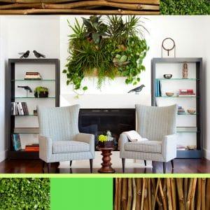 Эко-невидаль: «зеленые» идеи для городских и дачных интерьеров