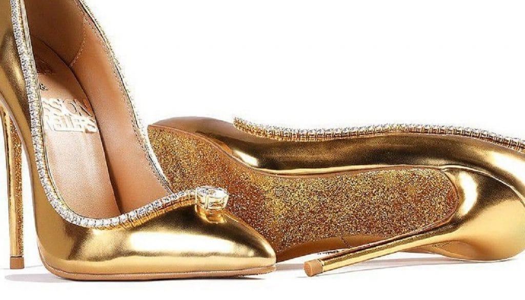 Самые дорогие туфли в мире показали на выставке драгоценной обуви