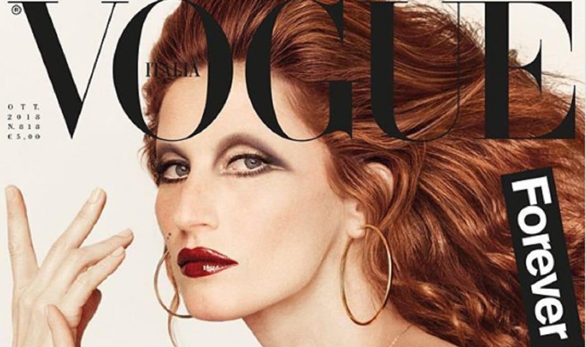 Жизель Бундхен в абсолютно неузнаваемом образе украсила обложку Vogue