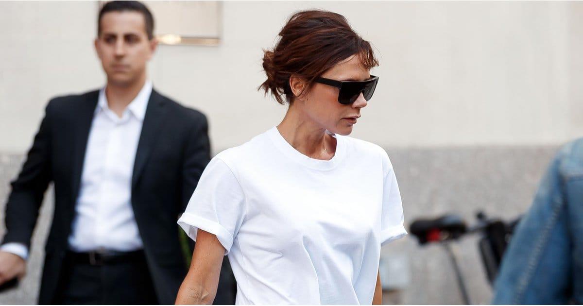 Виктория Бэкхем к 10-летию своего бренда выпустила забавные футболки