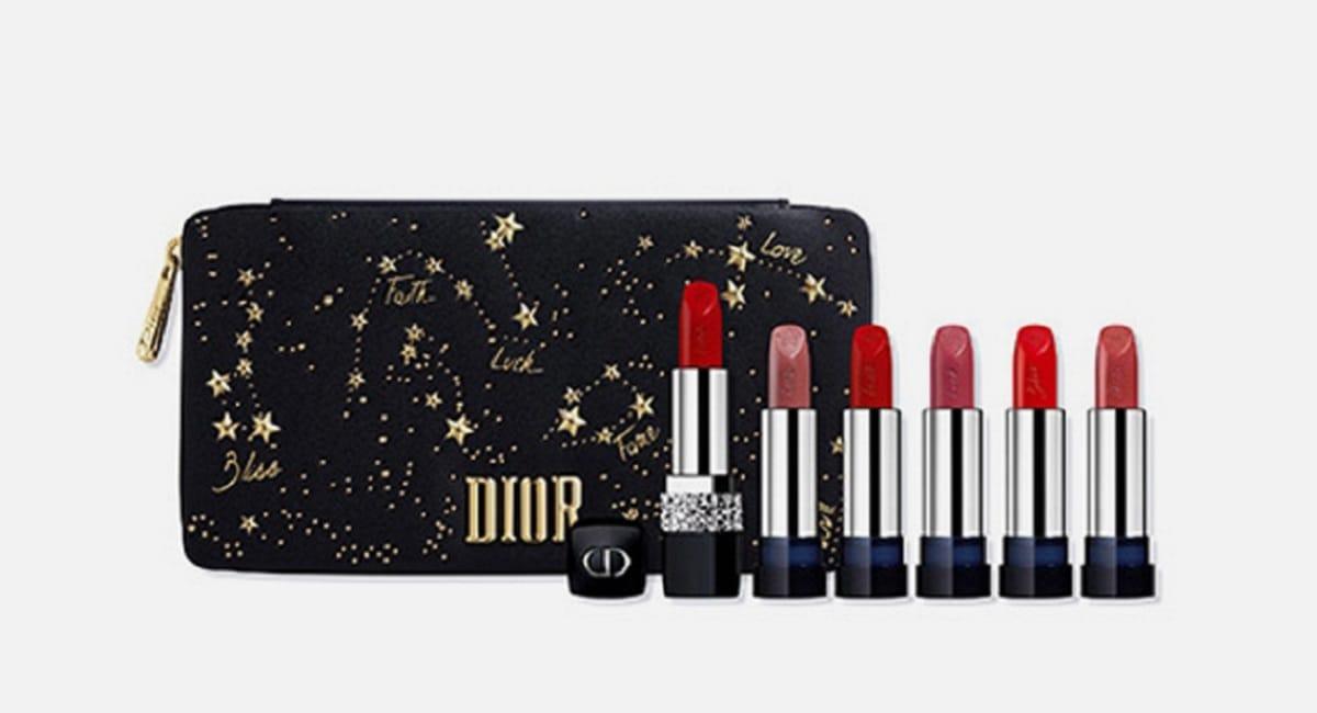 Dior представил коллекцию новогоднего макияжа Midnight Wish