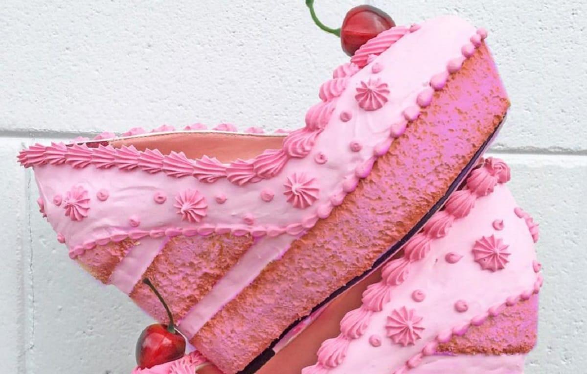 Так бы и съела: дизайнер из США создает обувь в форме тортов