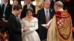 В Великобритании состоялась свадьба принцессы Евгении и Джека Бруксбэнка