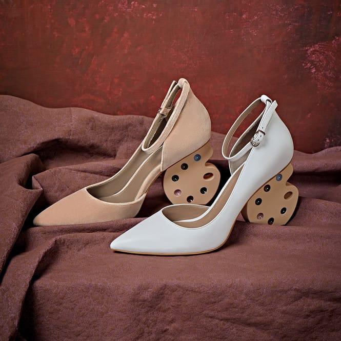 Топ-5 модной обуви с необычным каблуком