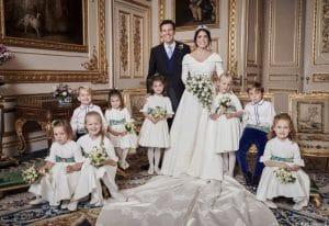 Первые официальные снимки со свадьбы принцессы Евгении и Джека Бруксбэнка