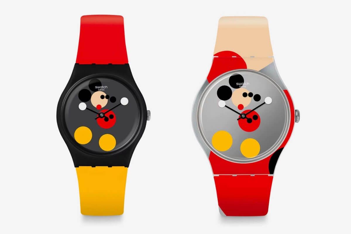 Бренд Swatch выпустил часы с Микки Маусом