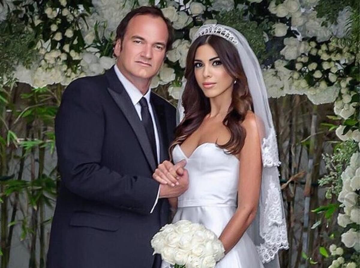 55-летний Квентин Тарантино женился на 34-летней модели