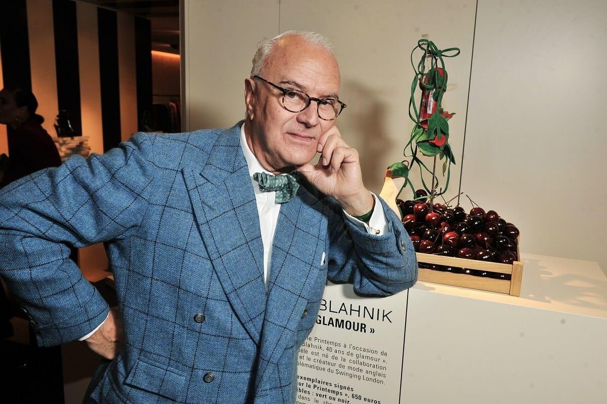 Дизайнер Маноло Бланик стал легендой в мире роскоши