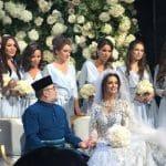 «Мисс Москва-2015» вышла замуж за короля Малайзии