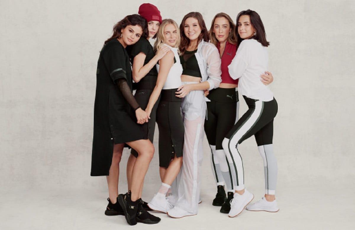 Селена Гомес разработала коллекцию для бренда Puma