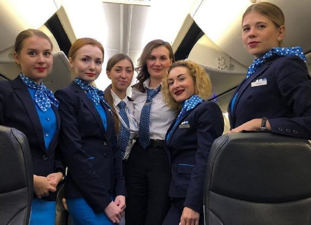 Женский экипаж авиакомпании «Победа» впервые выполнил международный рейс