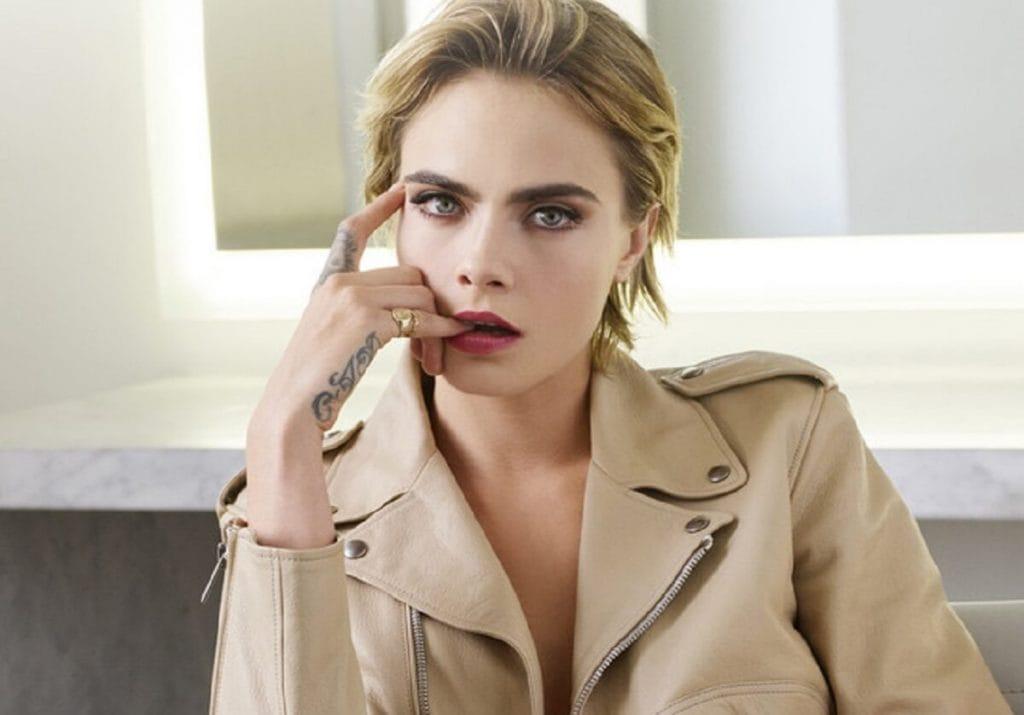 Кара Делевинь стала новым лицом помады Dior