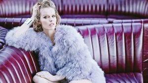 45-летняя модель Ева Герцигова снялась в рекламе нижнего белья