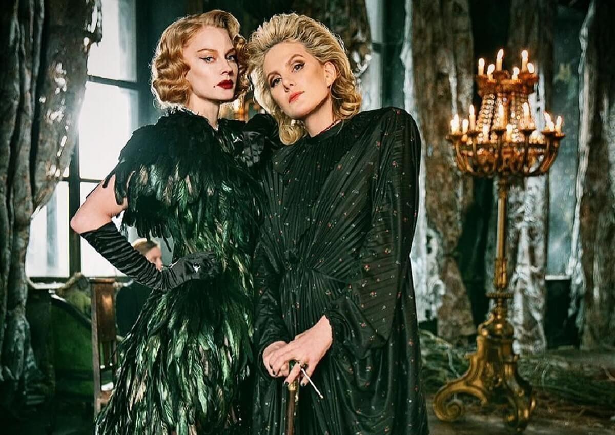 Элегантные Ходченкова и Литвинова на съемках драмы «Северный ветер»