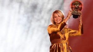 Ада Хегербер стала первой женщиной, получившей приз «Золотой мяч»