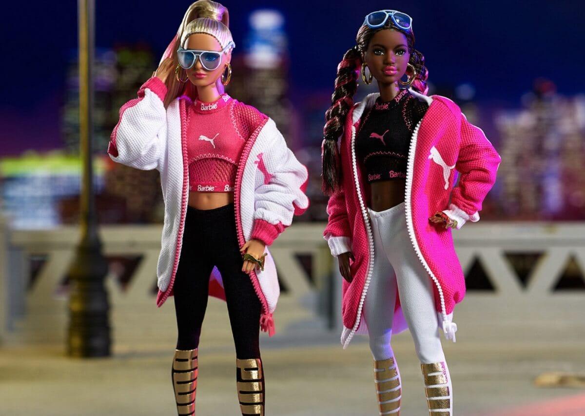 Куклы и кроссовки: бренды Barbie и Puma выпустили совместную коллекцию