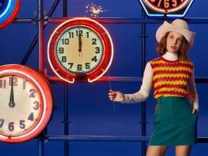 14-летняя Милли Бобби Браун снялась для новогодней коллекции Calvin Klein