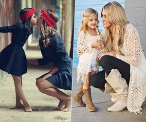 Дочки-матери: 5 первых уроков стиля для девочек