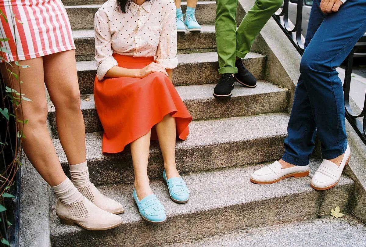 Бренд Marks   Spencer выпустил свою первую коллекцию веганской обуви ... 9e7f4367aaa