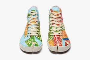 Таби-кеды: необычная обувь от бренда Maison Margiela