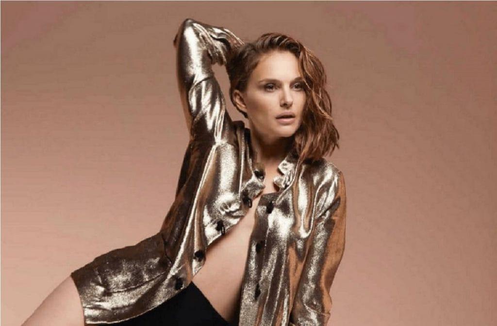 Натали Портман снялась в откровенном образе для бренда Dior