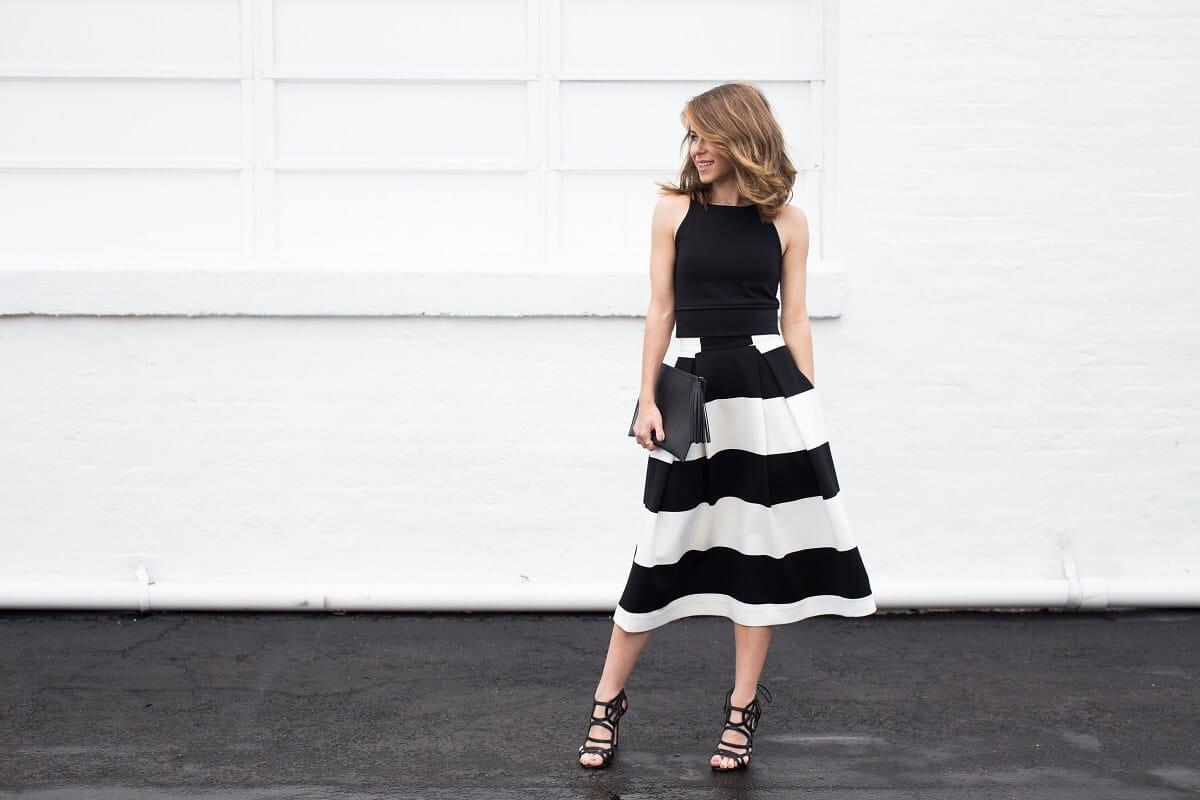 Шелковая юбка из 90-х снова в тренде