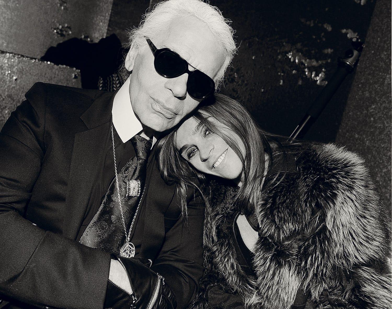 Карл Лагерфельд и бывший главный редактор Vogue Paris объявили о долговременном сотрудничестве