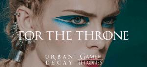 Новая палетка от Urban Decay посвящена «Игре Престолов»