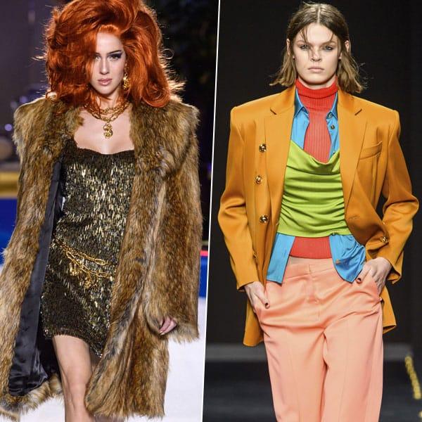 Панк, милитари и другие тренды Недели моды в Милане