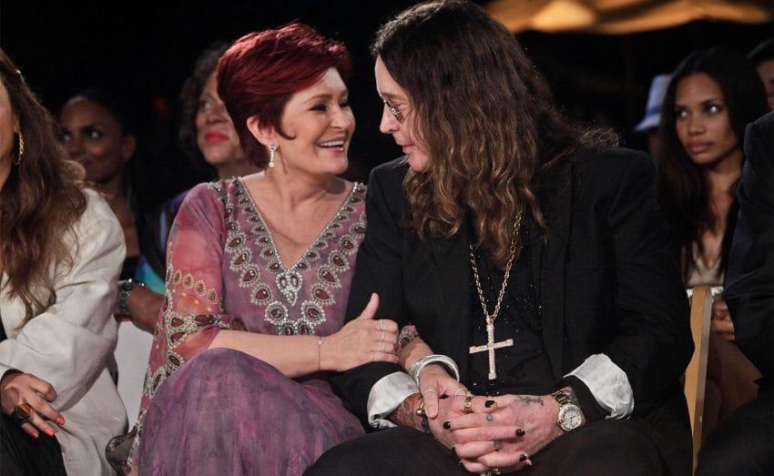 Шерон и Оззи Осборн муза для мужа семья звезды