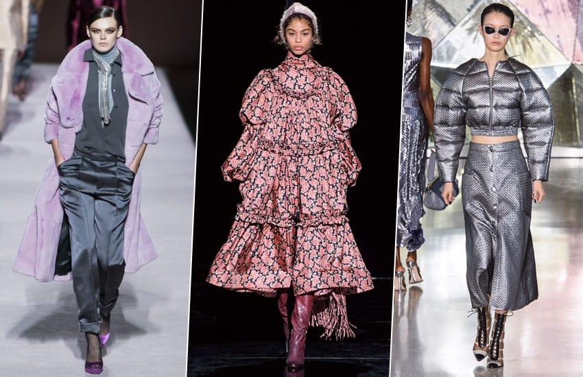 cc6125898fbb Оверсайз, диско и меховые мюли: тренды Недели моды в Нью-Йорке — Женский  журнал