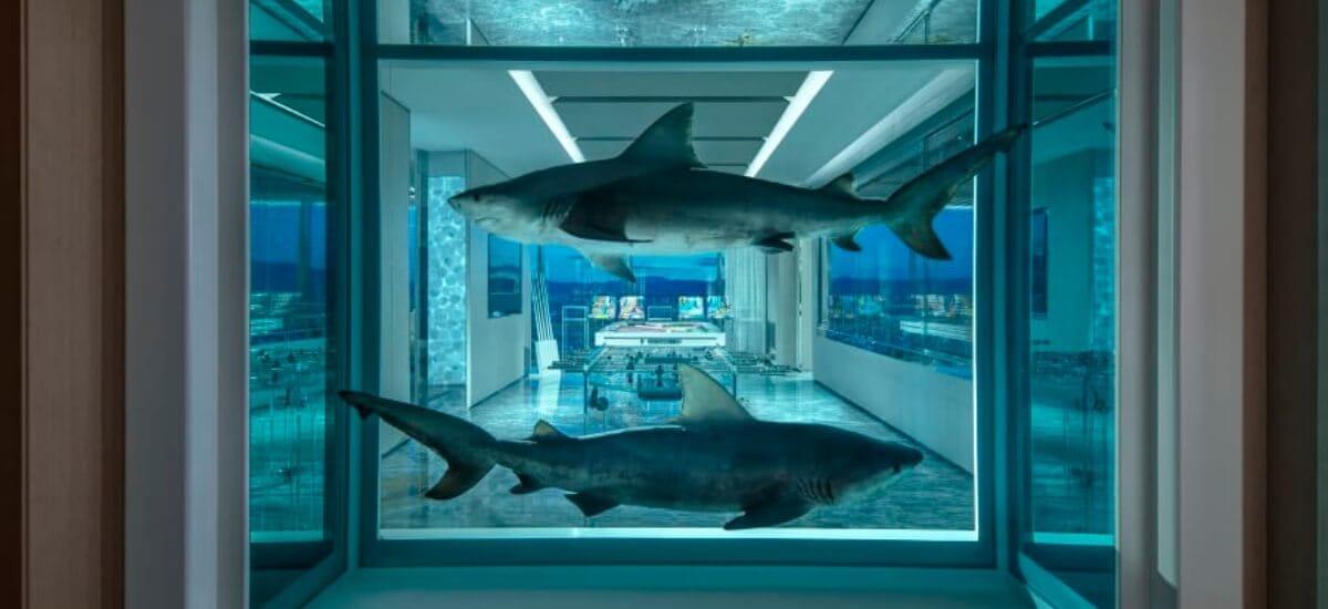 Новое творение Дэмиена Херста: самый дорогой номер в отеле