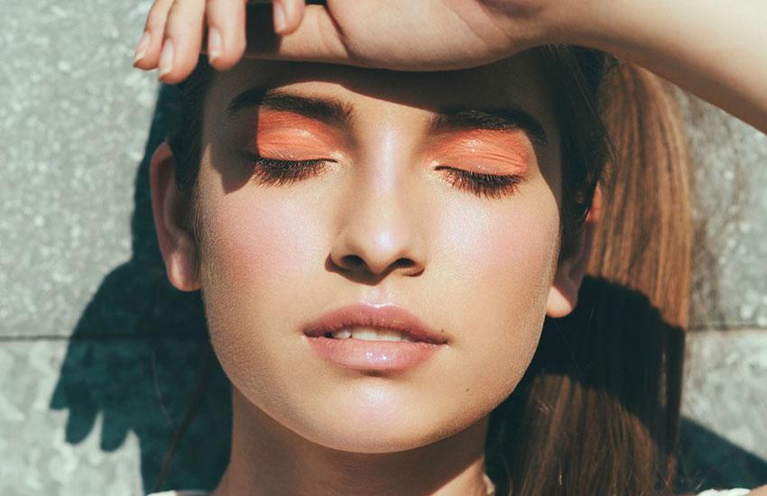 кожа в жару макияж тренд heatwave skin