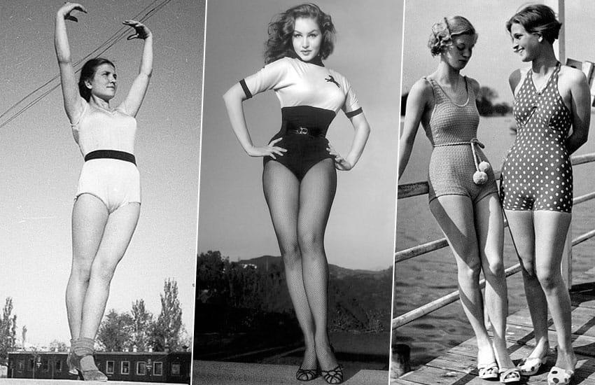 история нижнее белье мода прошлое
