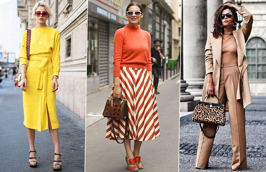 цвет тренд мода одежда стиль