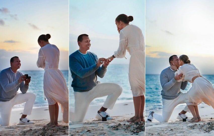 свадьба пара помолвка дженнифер лопес алекс родригес