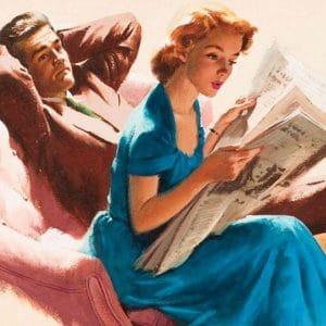 Моя любовь осталась в ХХ веке: советы из старых журналов, как вести себя с мужем