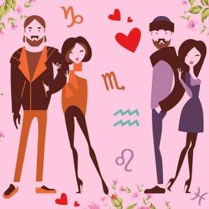 Твоя идеальная пара: любовный гороскоп на совместимость