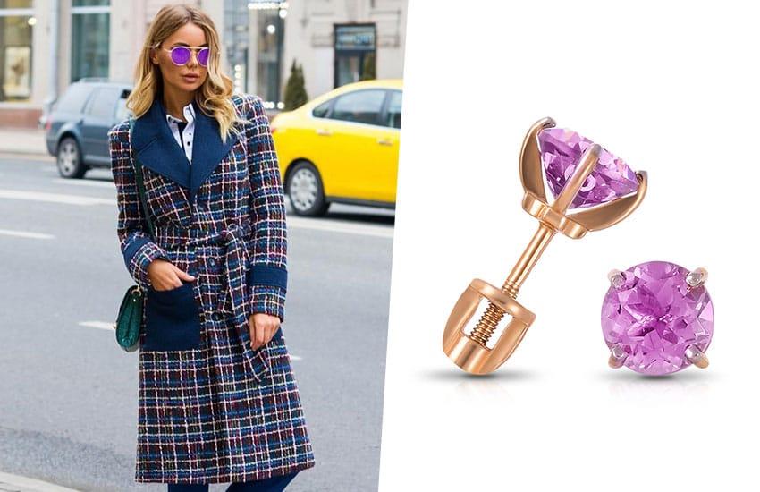 тренч пальто серьги украшение мода тренд