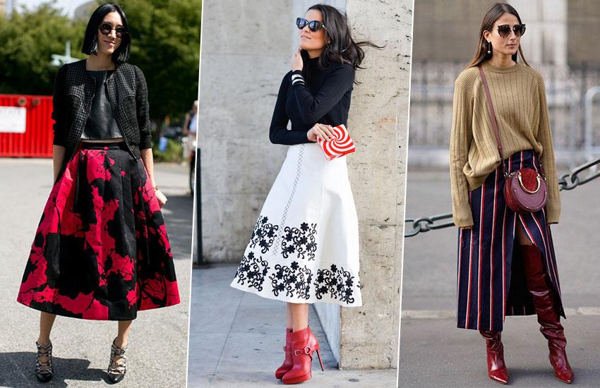 мода стиль весенний образ юбка