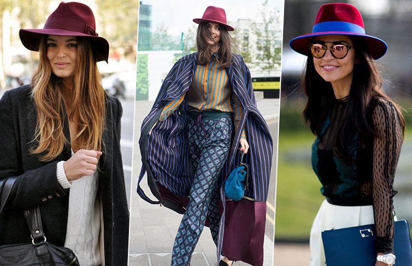 мода стиль весенний образ шляпа