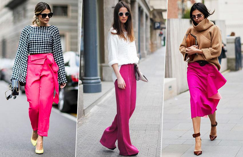 мода стиль весенний образ розовый цвет