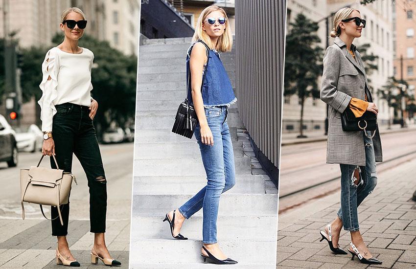 туфли с открытой пяткой слингбэки покупки май мода стиль тренды шоппинг