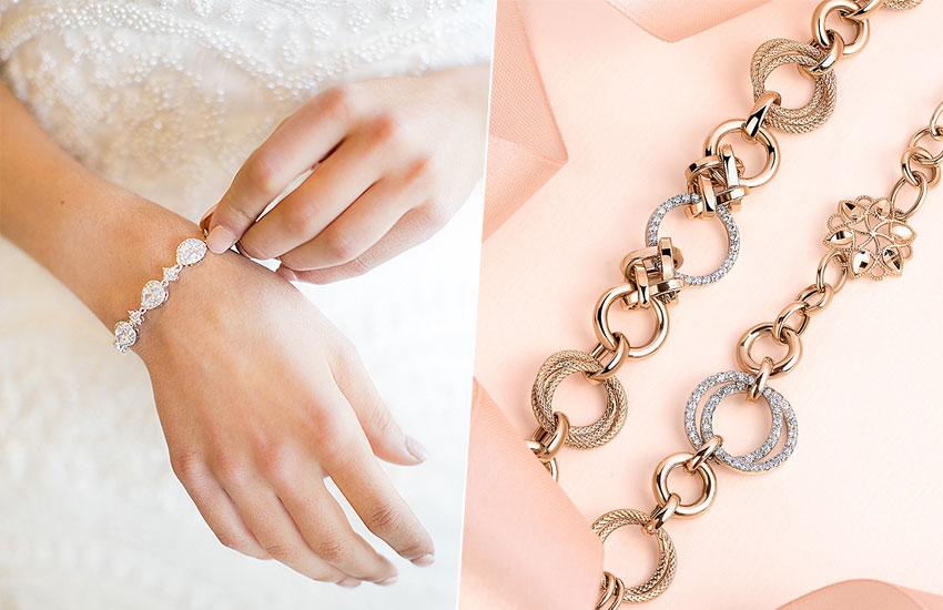 невеста свадебная мода тренды украшения аксессуары браслет
