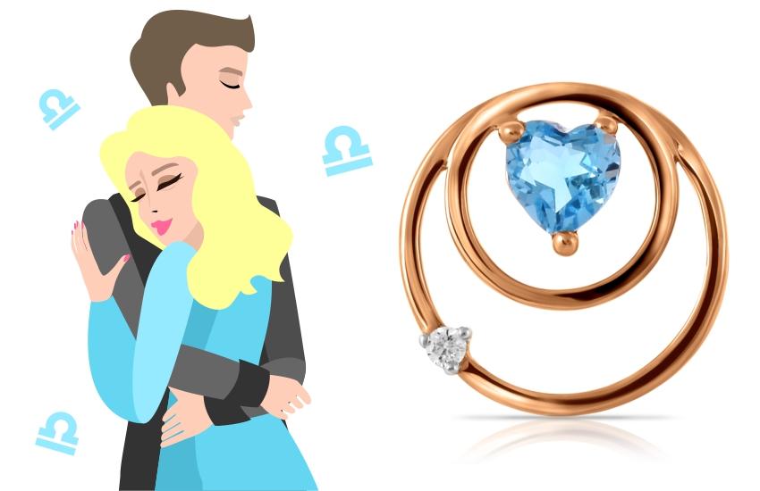 любовный гороскоп знаки зодиака астропрогноз подвеска сердце топаз
