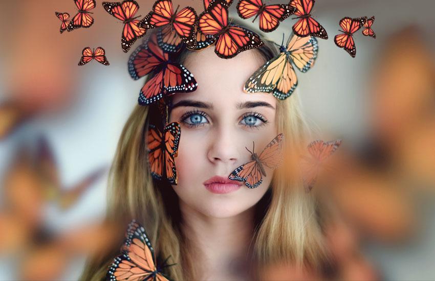 бабочки украшения аксессуары