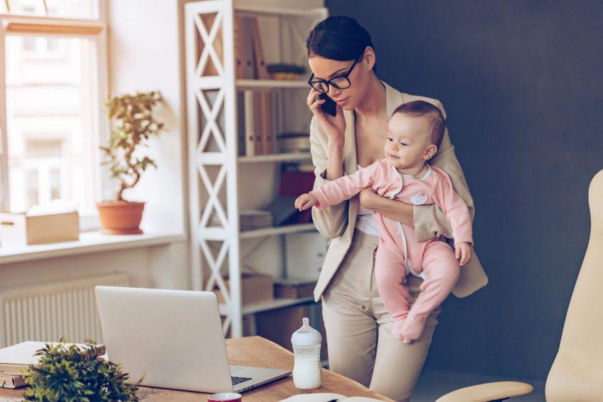 молодая мама декрет заработок