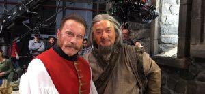 Арнольд Шварценеггер против Джеки Чана в трейлере «Тайна печати дракона»