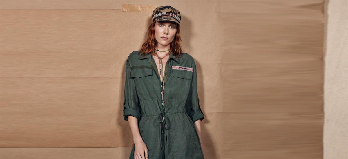 Брутальная коллекция от Zara в стиле милитари